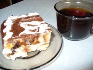 "Торт ""ЛАБИРИНТ"" с черносливом и курагой Для теста: 1яйцо, 1 стакан сметаны, 1 стакан сахара, 1 стол... - 8"