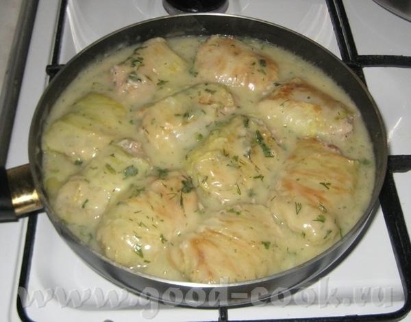 Блюдо сочинилось из-за того, что попался кочан капусты, от которого не хотели отделяться листики - 5