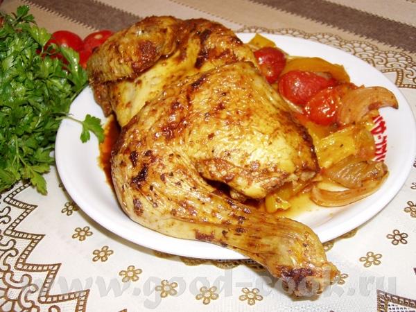 Запеченное бедро индюшки с картофелем Цыплята,фаршированные сердечками Крылышки-карри Иерусалимская... - 8