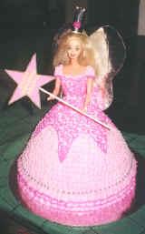 Торт кукла, типа