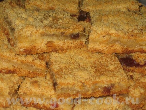 Я с очередной благодарностью Леночке за Пирог с яблочным пюре (муссом) и крошкой