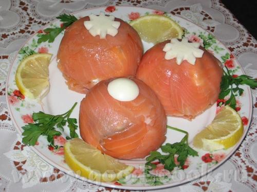 «Поцелуйчики» закуска из лосося (рецепт от с forum - 3