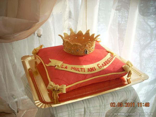 Надпись с юбилеем царь на торте