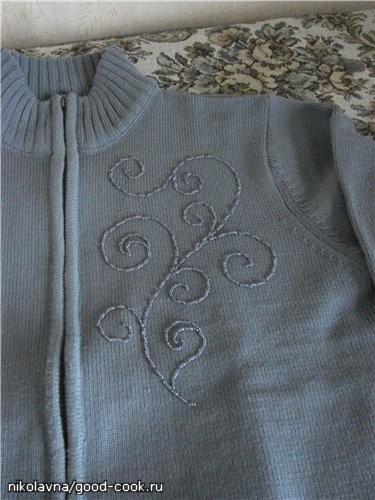Отчитываюсь за лето: Купила тёплый джемперок с моим любимым большим воротником-стойкой