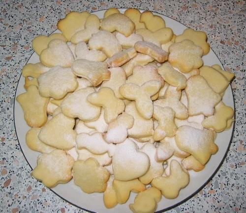 Сливочные печеньки от