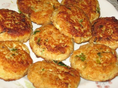 Котлеты из кабачков и мяты Израильская кухня - 2