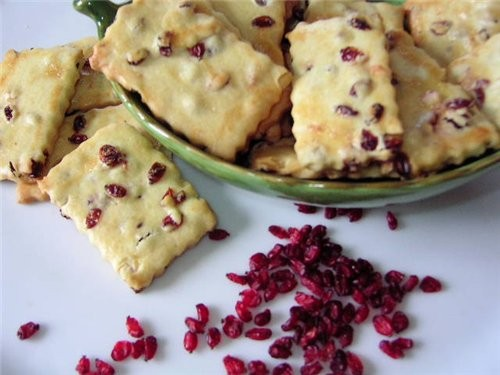Печенье с барбарисом