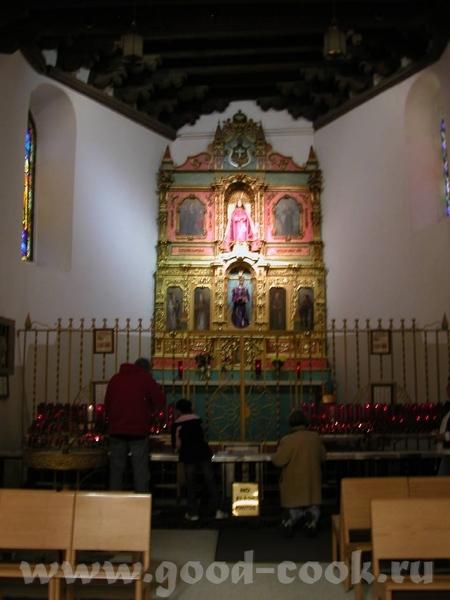 Собор действующий, при том, что процент верующих в стране велик, там где население имеет испанские...