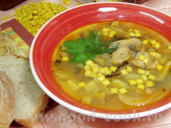 Гороховый суп с сухариками рецепт с фото
