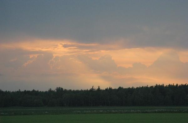 Еще небо в рябчик и закаты радуга - 3