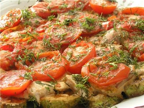 Закуска из кабачков с белыми грибами и помидорами Закуска из шампиньонов с брынзой, кунжутом и семе...