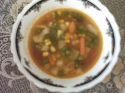 суп из овощей 50