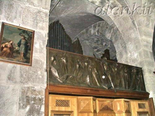 Коптская часовня сзади Святого Гроба Господня - 4