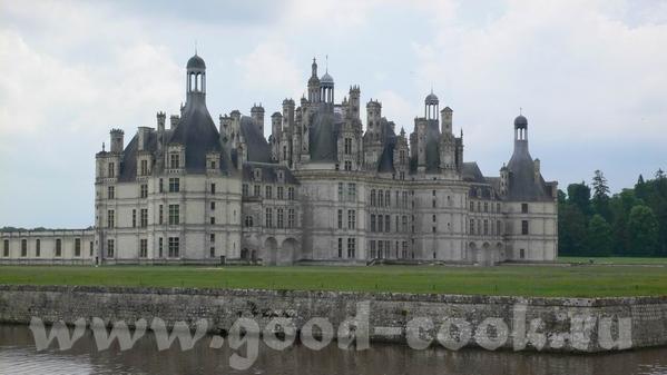 Это вид на замок Chaumont И на Луару - 3