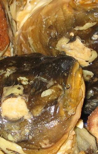 """Салат """"Последняя попытка"""" от Фаршированные яйца Фаршированная рыба Бульон с кнейдлахами - 3"""