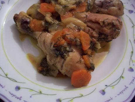 курица в томатно сливочном соусе курица тушеная с морковкой и зеленью курица запеченая в паприке ку... - 2