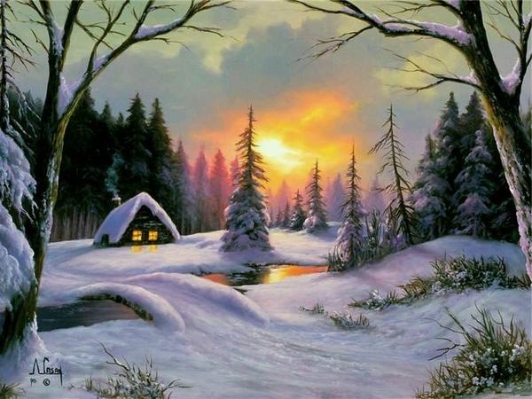 Зимний домик Взято у Левконои