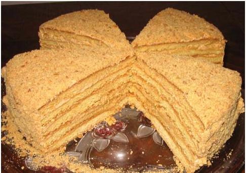 """Торт """"Медовый"""" от Irisochka - 2"""