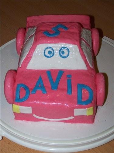 а это первая машина, на день рождения сына в садик
