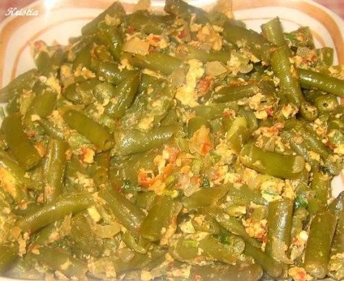 Зеленая фасоль Таджикские лепешки от Махи , рецепт здесь
