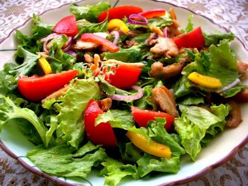 Весенний Куриный салат 1