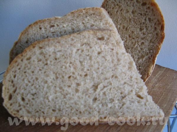 Простой деревенский хлеб на простокваше Рецепт: Мука пшеничная -450 г Мука ржаная -150 г Вода-120 г... - 2