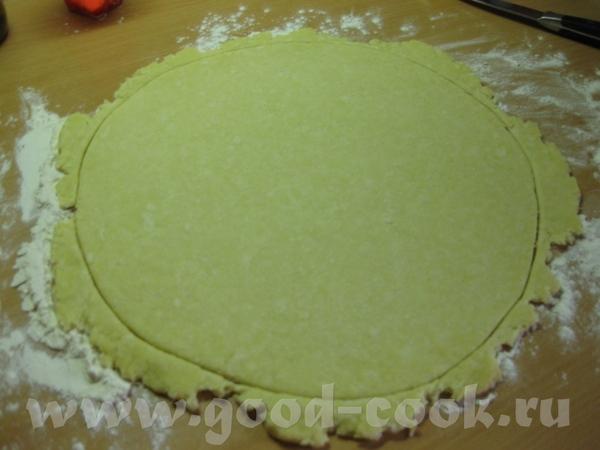 Пицца грибная с сырным бортиком Ингредиенты: - тесто для пиццы творожное - 1 помидор - 1 сладкий пе... - 3