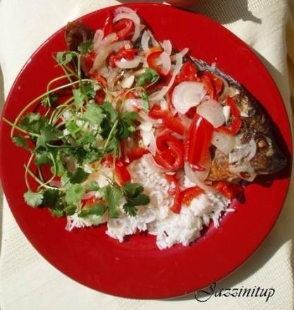 Эскович Рыба (Escovich fish) 5 средних Snappers,почищенных внутри и снаружи, голову и хвост не отр... - 3
