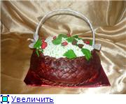 торт корзинка белых цветов торт корзина ромашек - 2