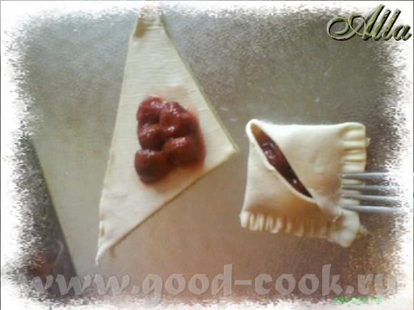 не большое отступление: Слоеное тесто при выпечке имеет свойство разлепляться - 3