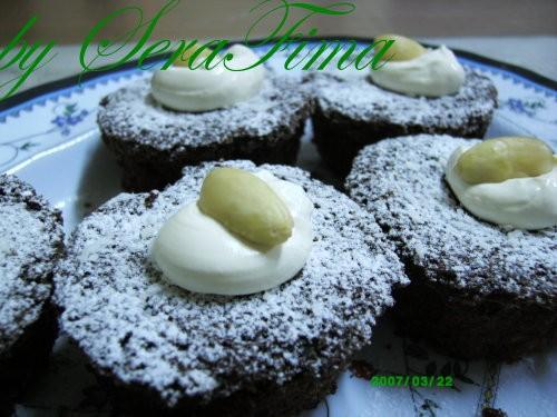 """Шоколадно-кокосовые маффины с крим-чизом Торт """"Панчо"""""""