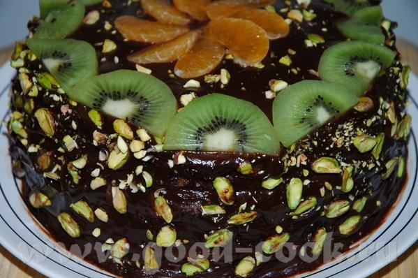Зелёный торт (фисташковый)