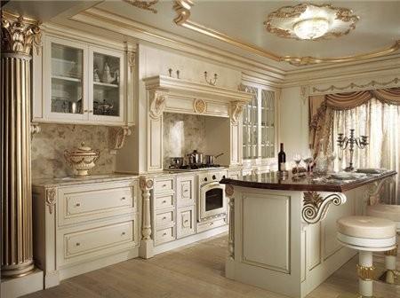 Как вам кухни в царском стиле - 2