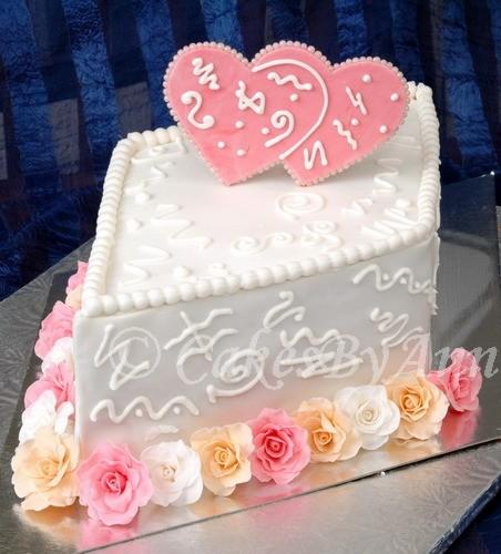 Почти свадебный тортик