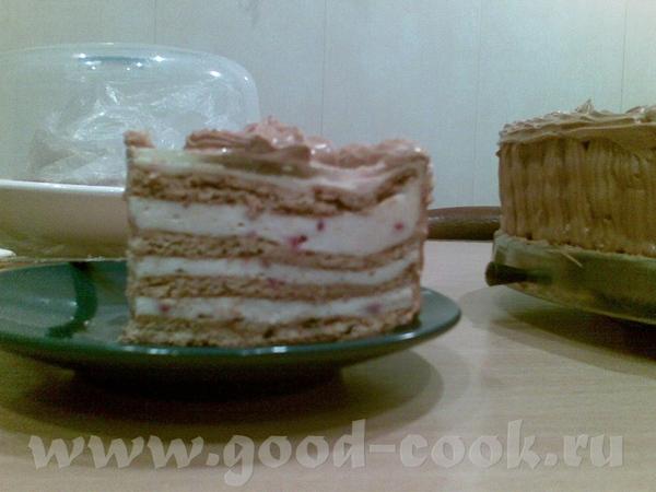Торт медовый с клюквенным суфле - 3