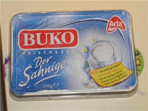 У меня сейчас есть только BUKO смотри, но я не думаю, что с ним торт мокрее будет