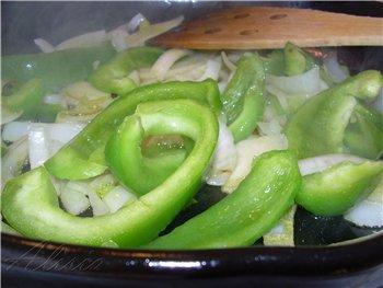 Семга с перцем и томатами в прованских травах 4 стейка семги (или лосось,форель) 1 большой зеленый... - 3