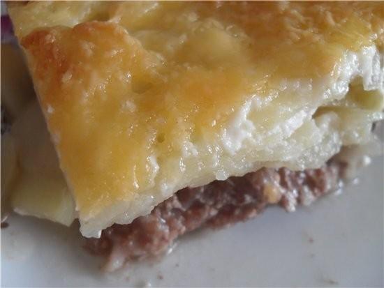Мясо по-французски Приятного аппетита