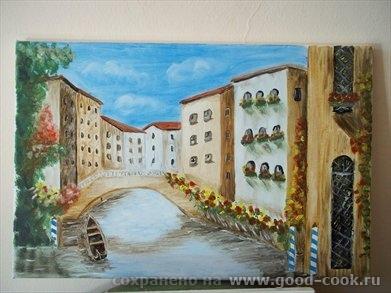Лодка Венеция Водопад - 2