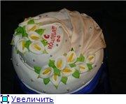 торт с каллами на юбилей - 3