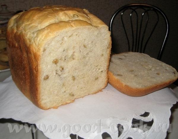 Девочки, вот получился у меня очень вкусный хлеб: Размягченное сливочное масло кусочками 50 г Соль...