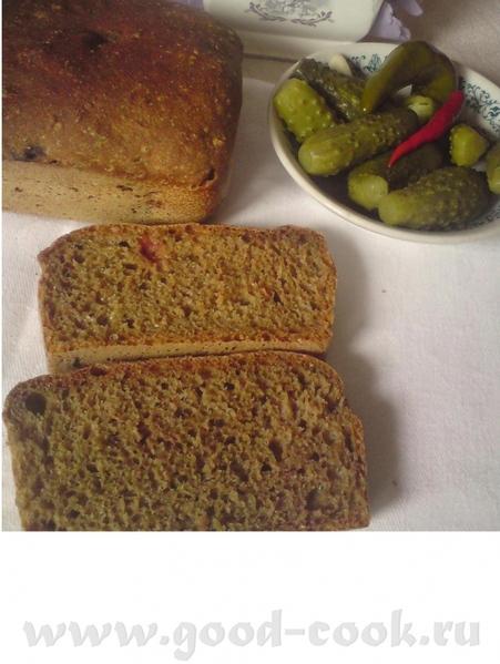 Еще один хлеб попробовала в манере 5-минутного (у нас клюква появилась) РЖАНОЙ С СОЛОДОМ И КЛЮКВОЙ