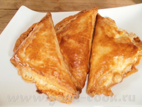 Алена, спасибо за Слойки с ветчиной и сыром Мы очень вкусно позавтракали