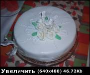 такой тортик я сделала себе на день рожденье