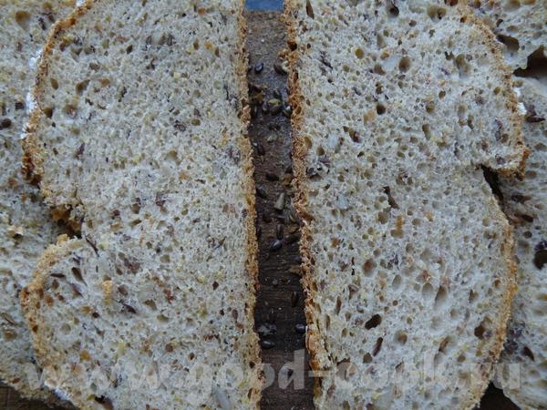 """На вкус - вкусный смешаный хлеб, наподобие такой я беру под названием """"Деликатессный"""", только там л... - 2"""
