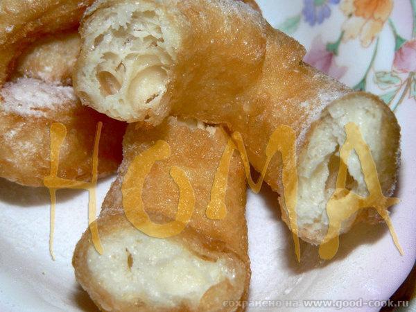 Эберсвальдские пончики (такие, как готовят в ИКЕА) / Eberswalder Spritzkuchen Эти пончики чрезвычай... - 3