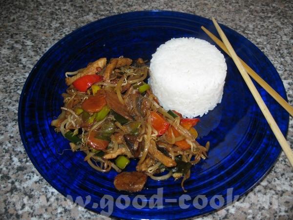 Китайское Ингридиенты: Морковка 1-2 Лук-порей Перец болгарский 1-2 шт - 3
