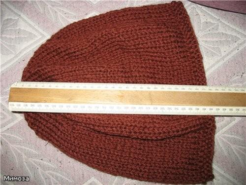 Для этих шапочек никакого инструмента не требуется (кроме спиц, конечно) - 2