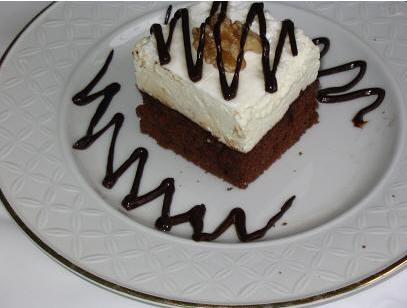 Пирожные Шоколадные с зефиром oт Мишель
