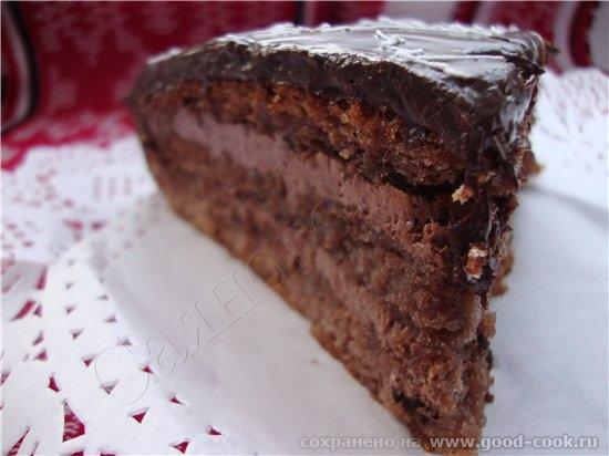 А это тортик пекла на днях, он уже стоит у меня, но там высокий был, а тут небольшой